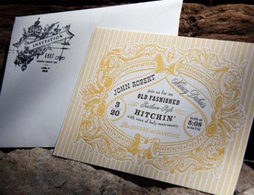 15 magnifiques cartons d'invitation de mariage