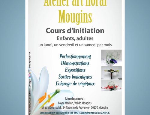 Flyer Atelier Art Floral