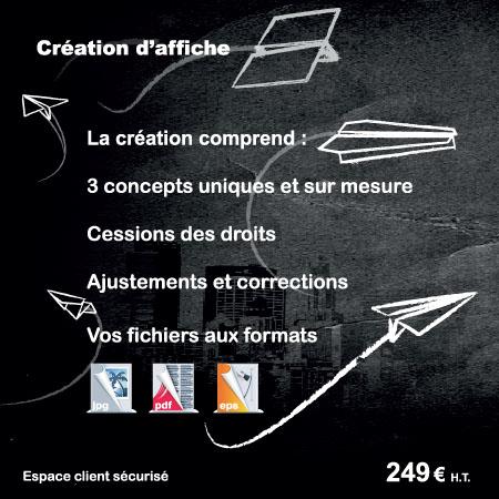 Création d'affiche graphiste pour expo, évènement, foire, salon par EM3C