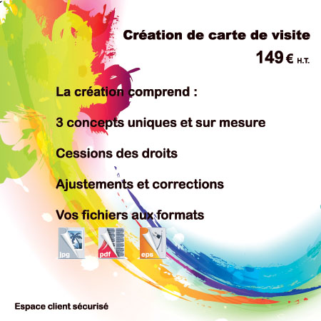 creation carte de visite par EM3C