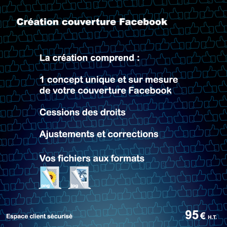 Creation couverture Facebook