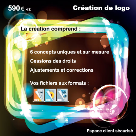 creation logo neon