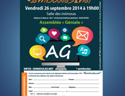 Flyer Assemblée Générale format A6
