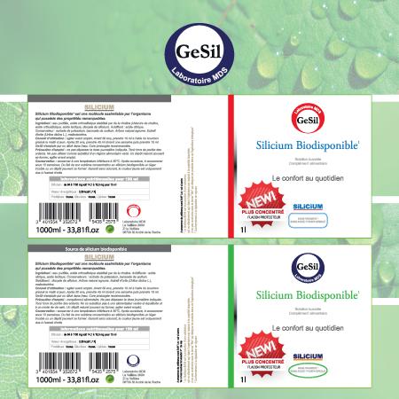 Création fiche produit et étiquette pour MDS Bio preventis par EM3C