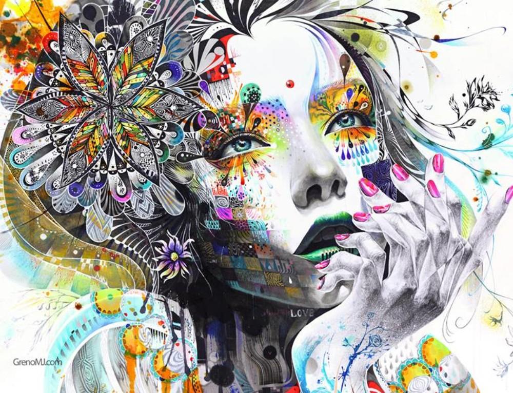 8 extraordinaires peintures de Minjae Lee