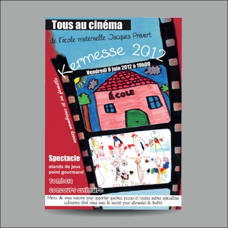 Création d'affiche pour kermesse pour association par EM3C