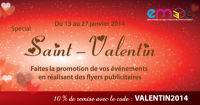 Promo flyer St valentin 2014 mini