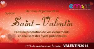 Promo flyer St valentin 2014 mini
