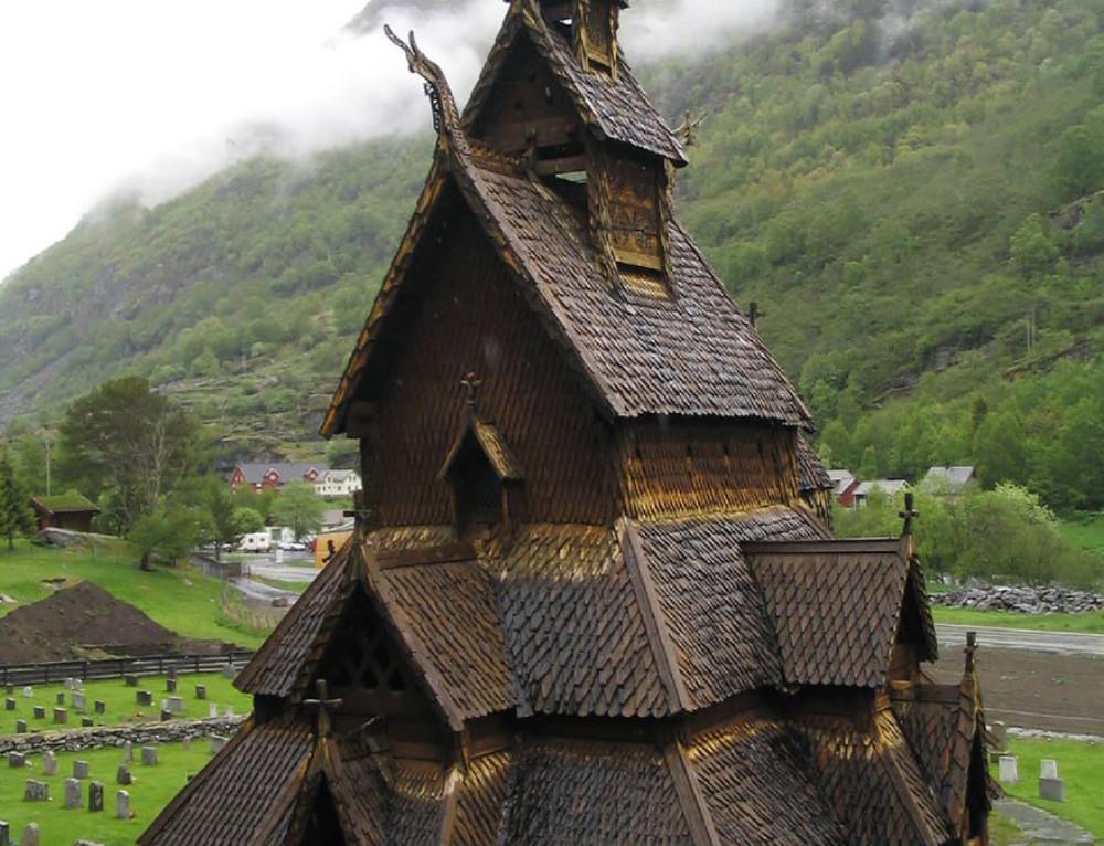 Architecture norvégienne ou décor de conte de fée ?
