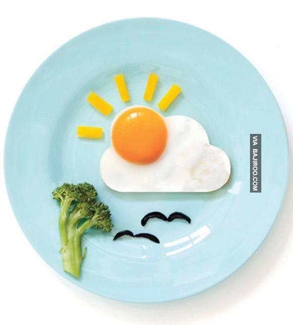 assiette-oeuf-plat-soleil