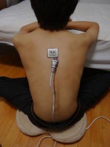 body painting prise et rallonge électrique