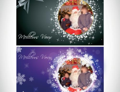 Cartes de vœux pour photos d'enfant ou scolaire