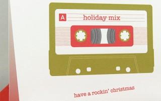 carte-joyeux-noel-vintage-cassette-audio-rock-n-roll