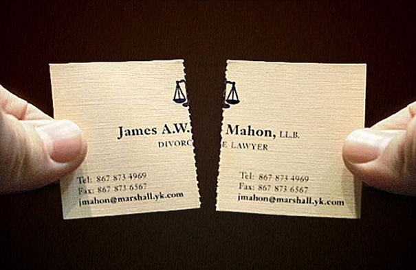 Carte Visite Professionnelle Avocat Specialiste Divorce 2