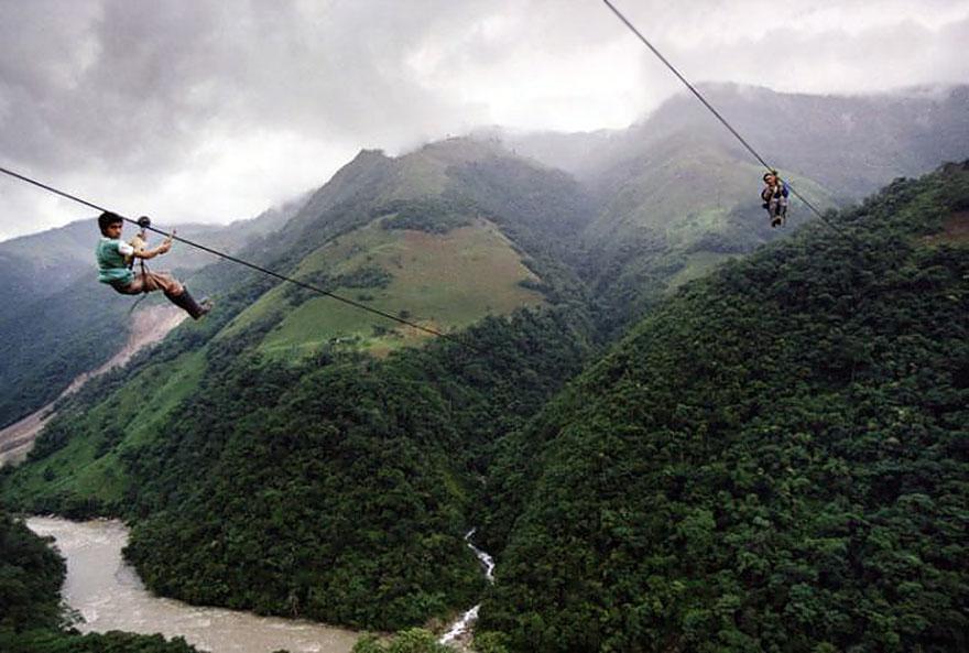 chemin-ecolier-dangereux-Colombie-Rio-Negro-2