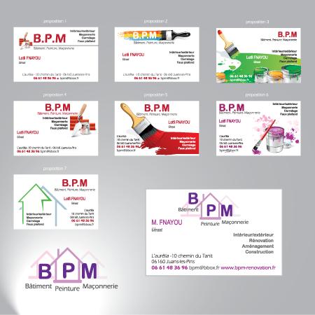 Carte De Visite Et Rdaction Contenu Web Pour BPM Rnovation