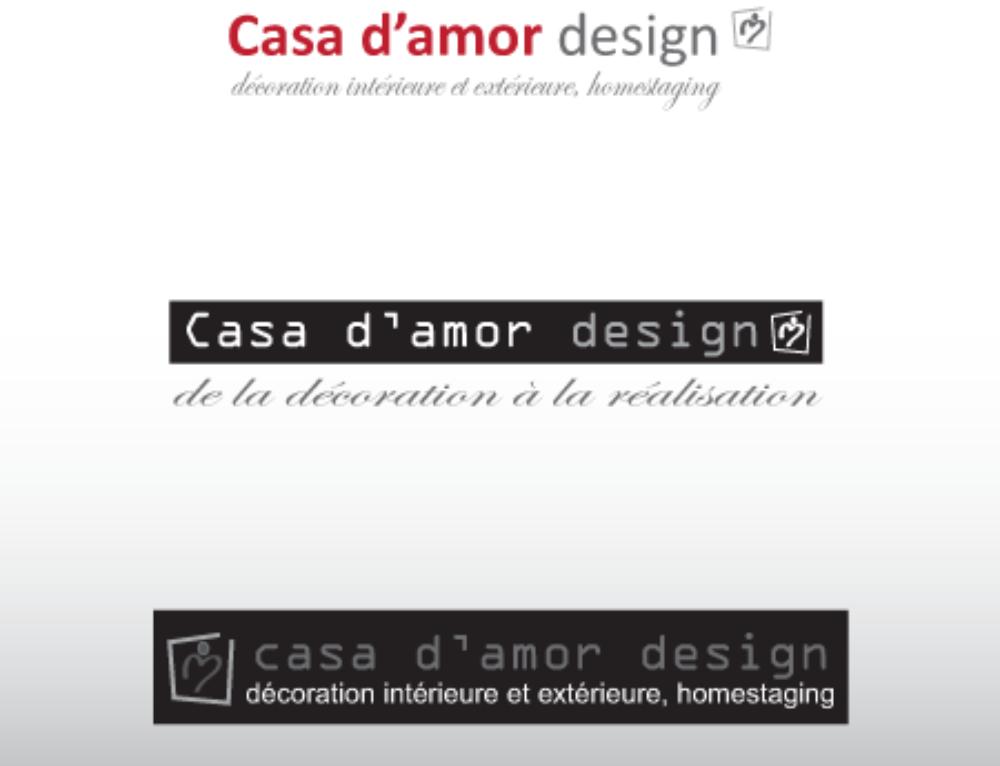 Logo pour Casa d'Amor Design