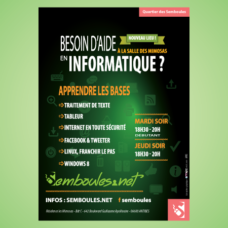 Semboules affiche