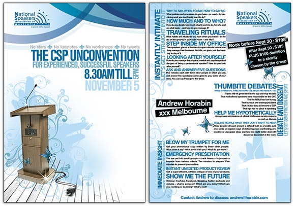 CSP unconvention flyer