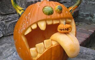 halloween-citrouille-jack-o-lantern-tire-langue-petite-citrouille
