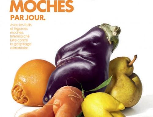 Fruits et légumes moches vu par Intermarché