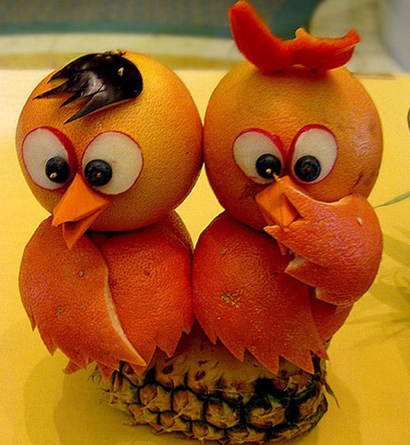 oiseaux-agrumes-ananas