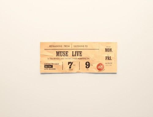 Qui veut des tickets pour Muse, ACDC ou Franz Ferdinand avec Oüi FM radio rock ?