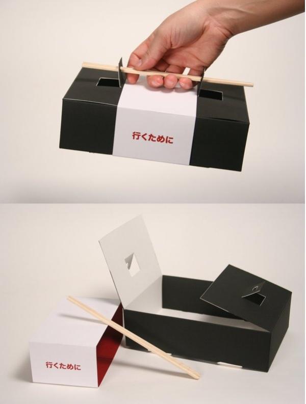 packaging-produit-astucieux-Sushi-To-Go-Box