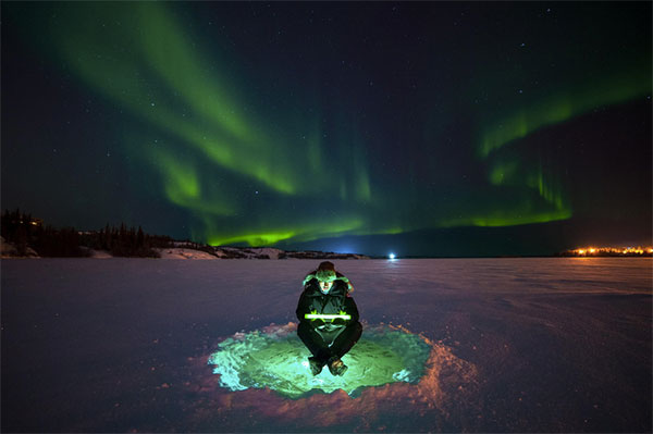 selfie-aurore-boreale
