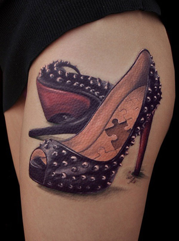 tatoo-chaussures-talons-puzzle