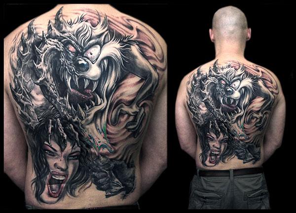 tatoo-diable-tasmanie-taz