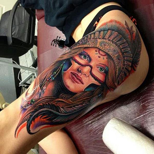 tatoo-indienne