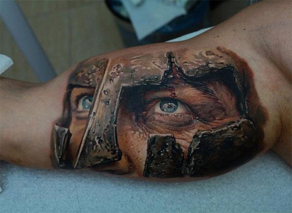tatoo-spartiate-regard-300
